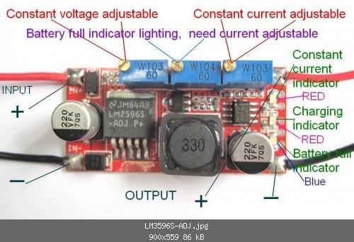 cc cv charging module