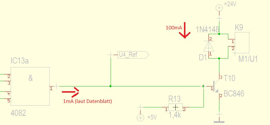 transistorschaltung berechnen npn transistor. Black Bedroom Furniture Sets. Home Design Ideas