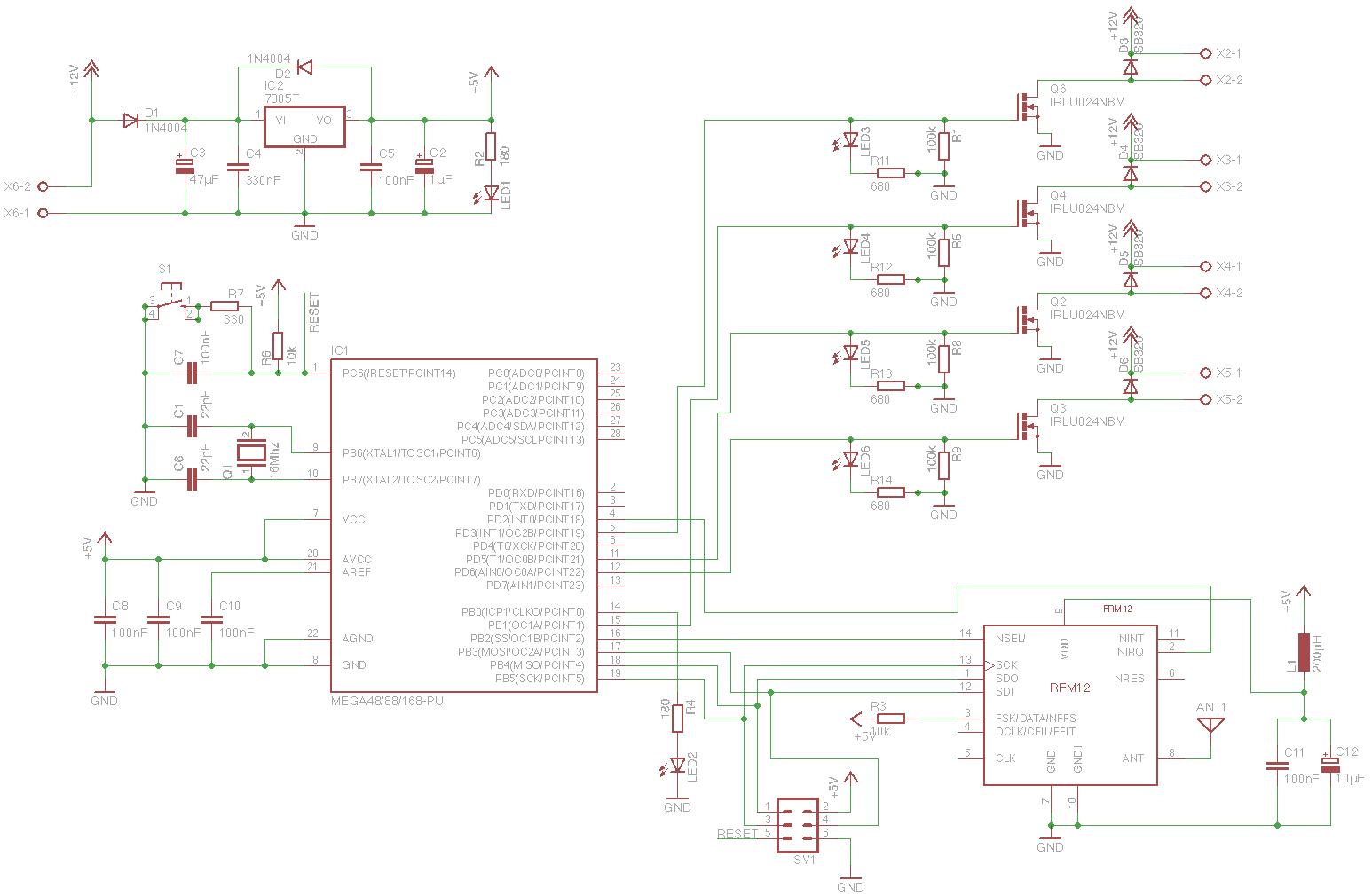 Feedback Schaltplan und Boardlayout - Mikrocontroller.net