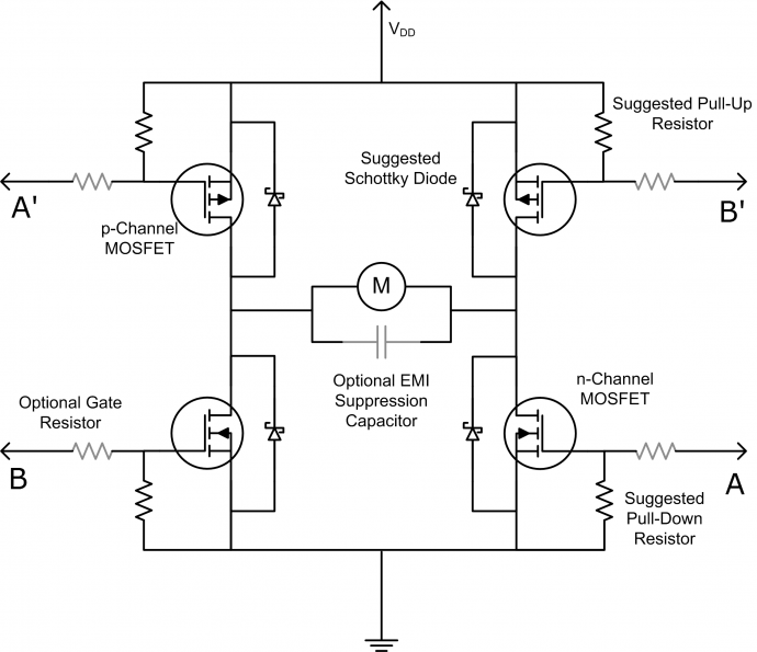 86 moto 4 wiring diagram welcher mosfet f  r h br  cke mikrocontroller net  welcher mosfet f  r h br  cke mikrocontroller net