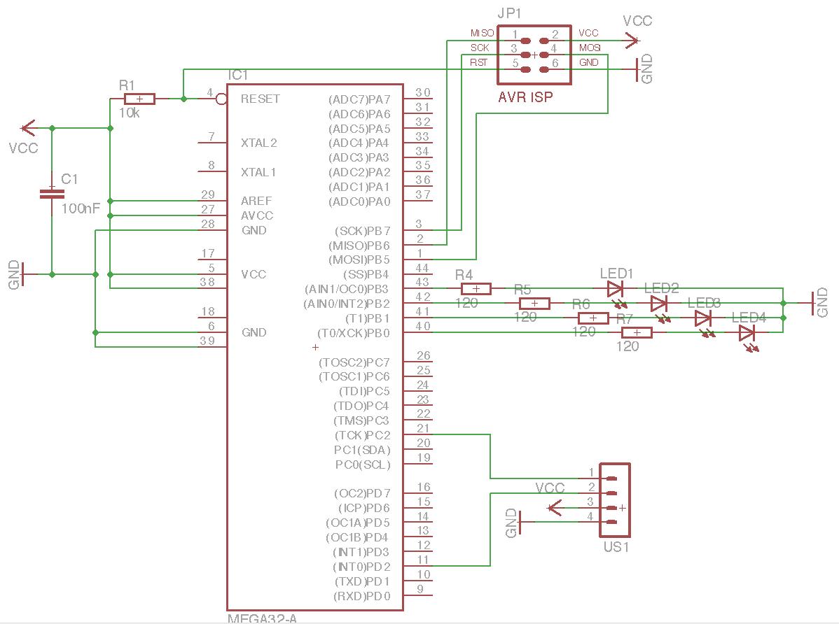 HC-SR04 Ultraschalldistanzsensor an ATmega32 - Mikrocontroller.net