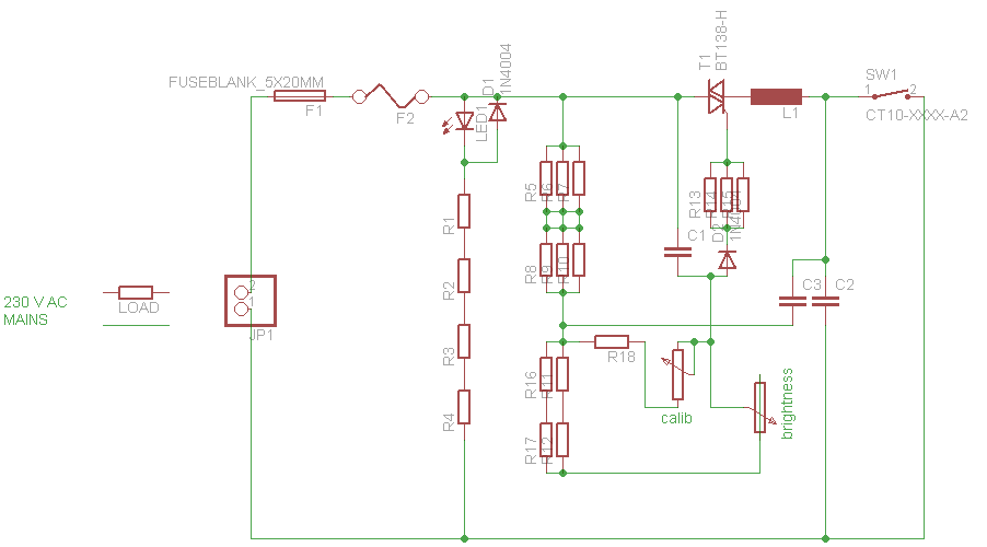 Wechselstrommotor dimmen? - Mikrocontroller.net