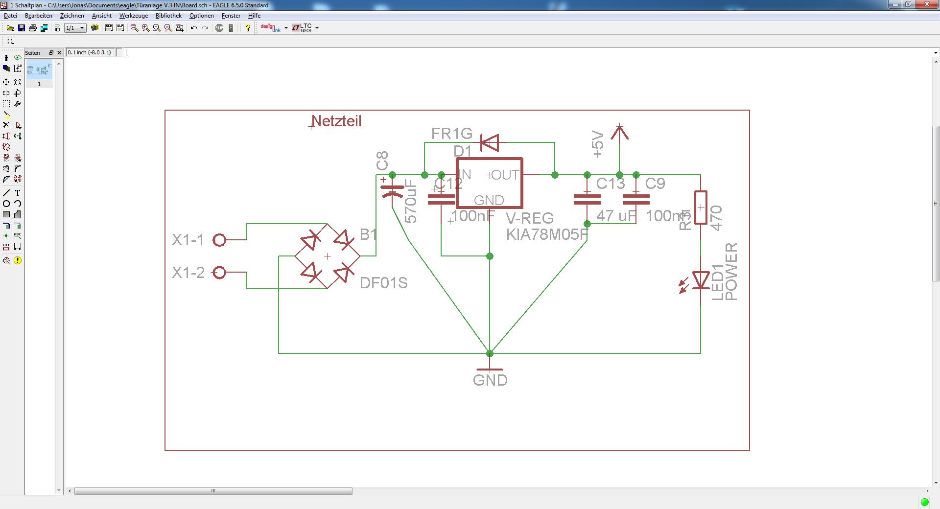 Gleichrichter + Glättung und Siebung - Mikrocontroller.net