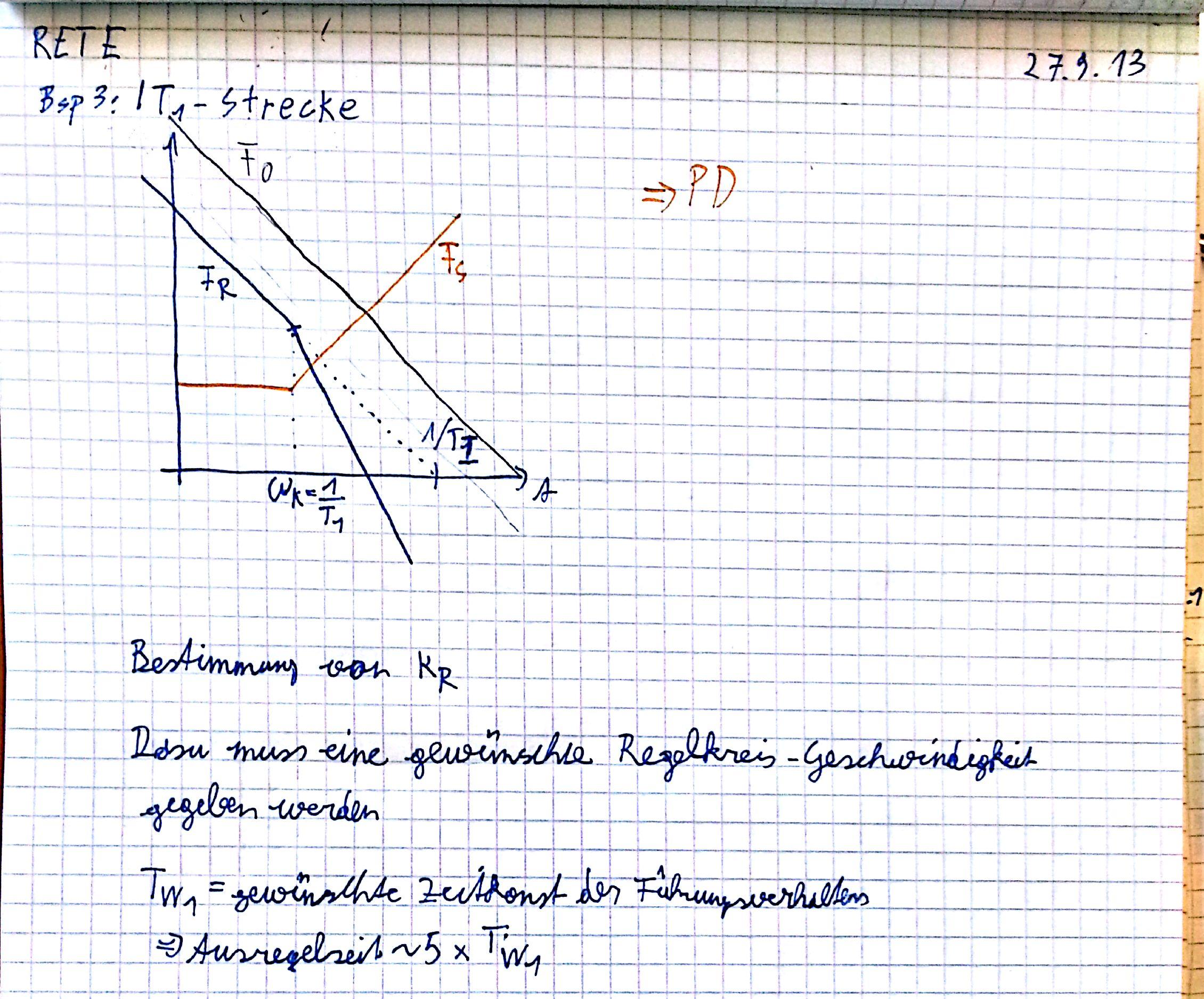 Regelungstechnik Stabilit U00e4t  Reglerdimensionierung