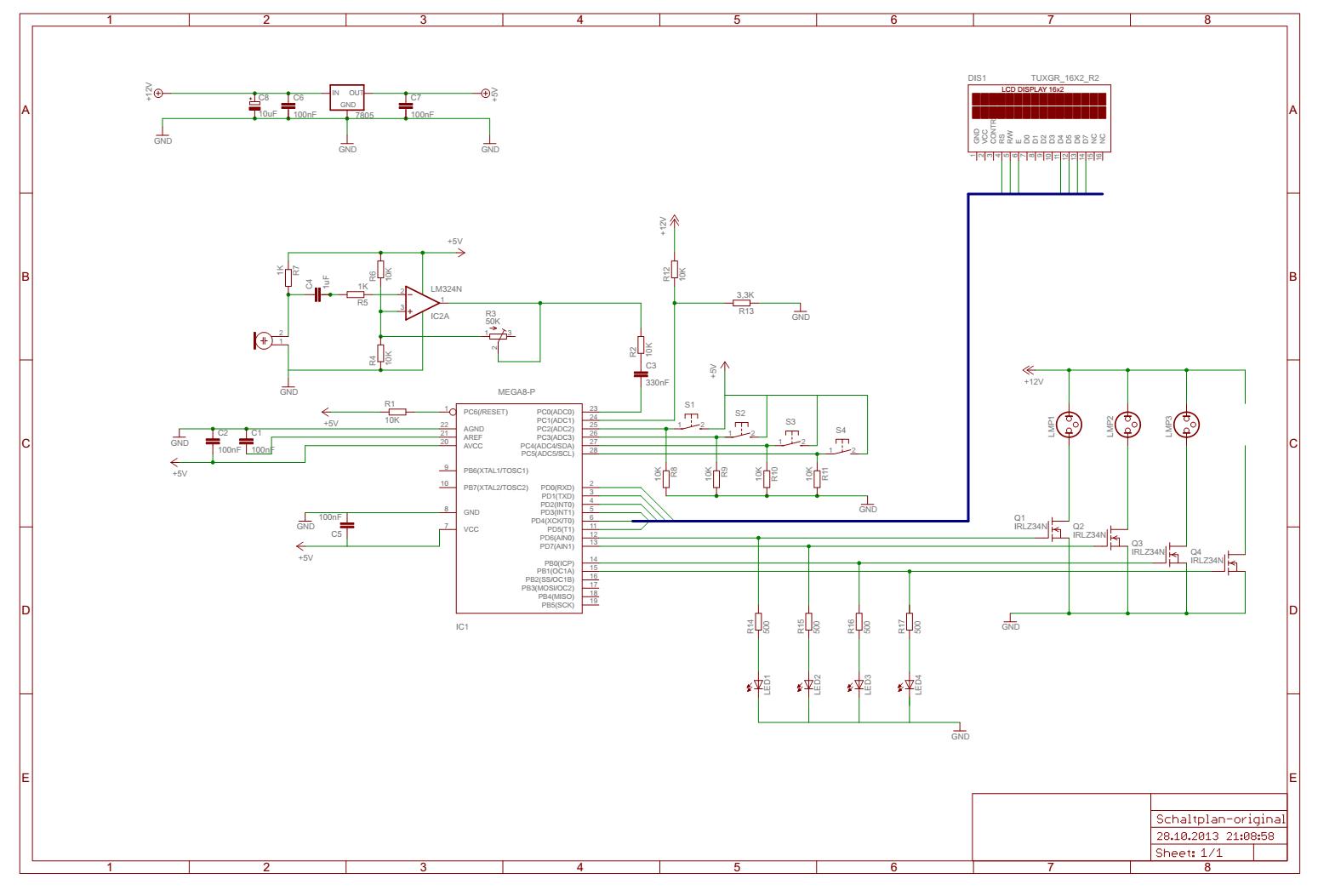 Lärmampel von erfinderjo - Mikrocontroller.net