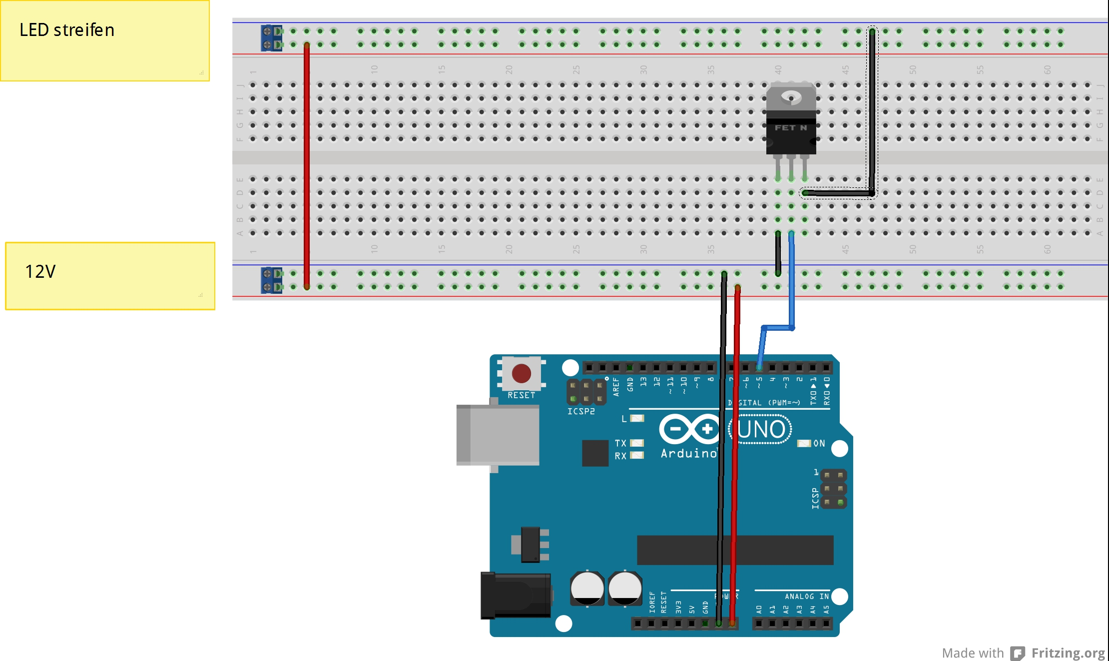 Switching 9V using a NPN transistor and an Arduino