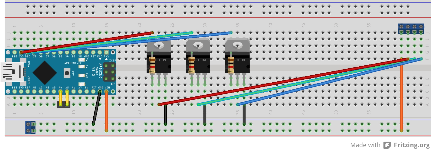 Arduino and high power leds - Arduino Forum - Index