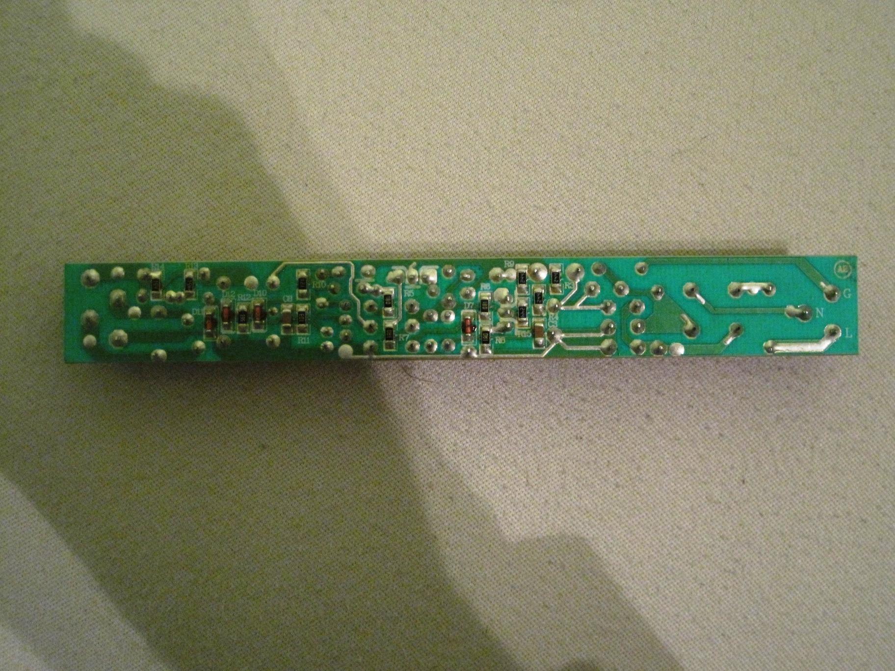 Vorschaltgerät defekt EVG T5 selbst reparieren - Mikrocontroller.net