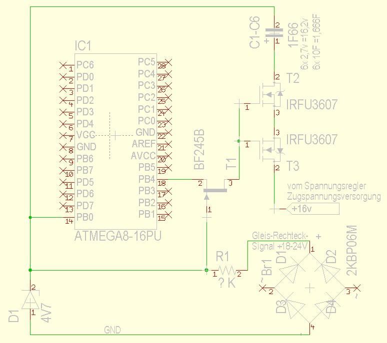Modellbahn Pufferschaltung - Mikrocontroller.net