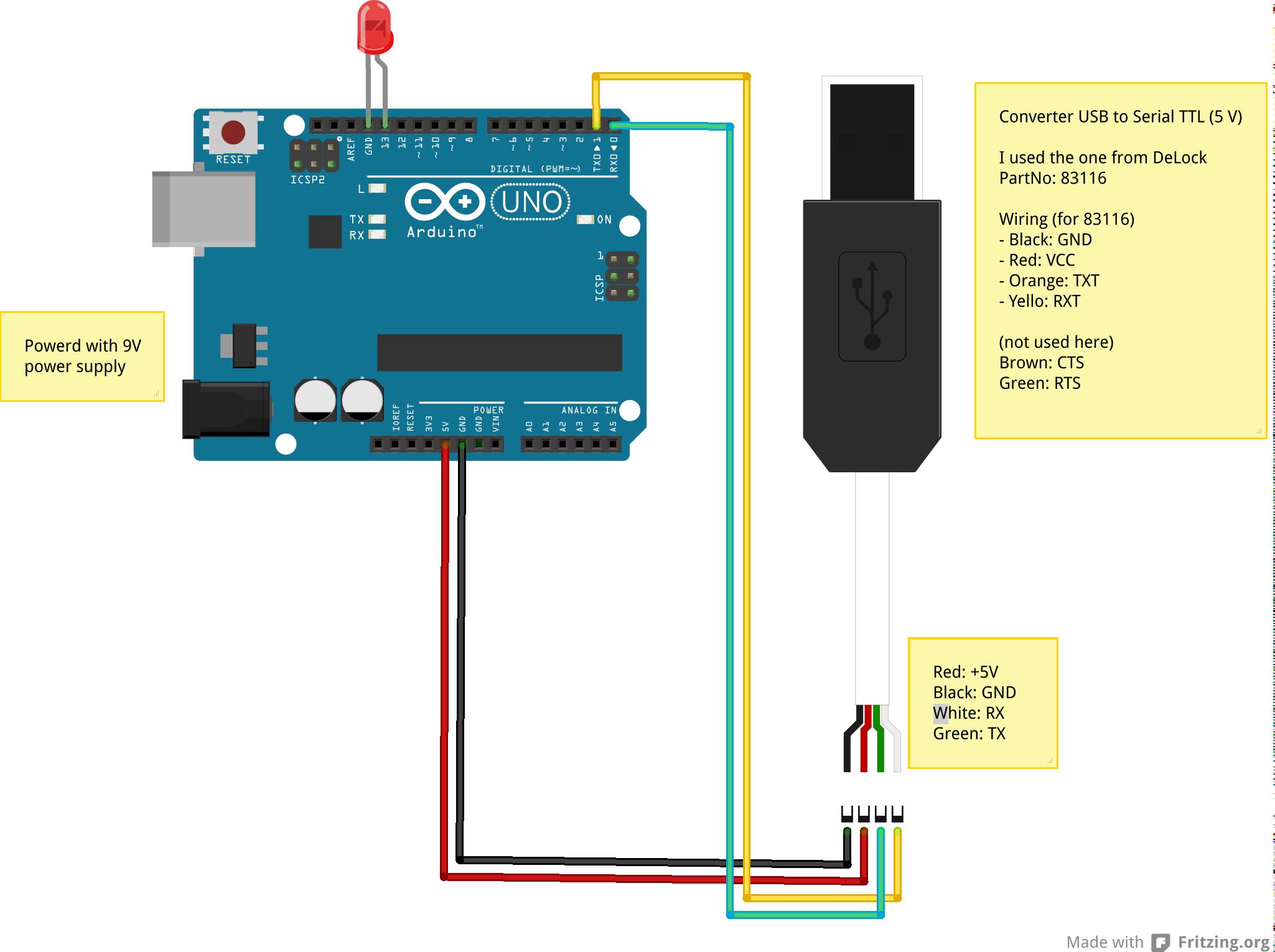 Arduino uno usb ttl konverter pc v gt