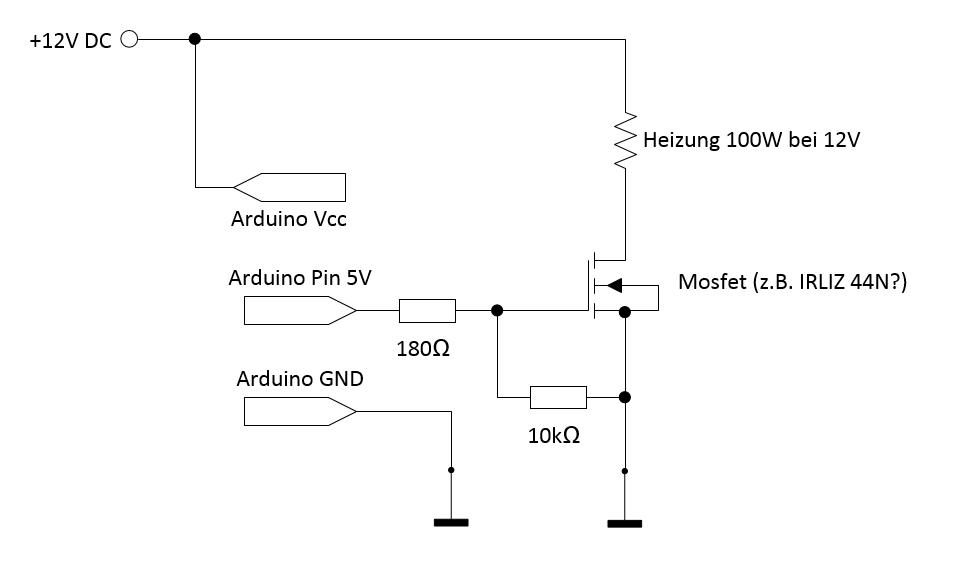 Eine Heizung mit Arduino schalten - Mikrocontroller.net