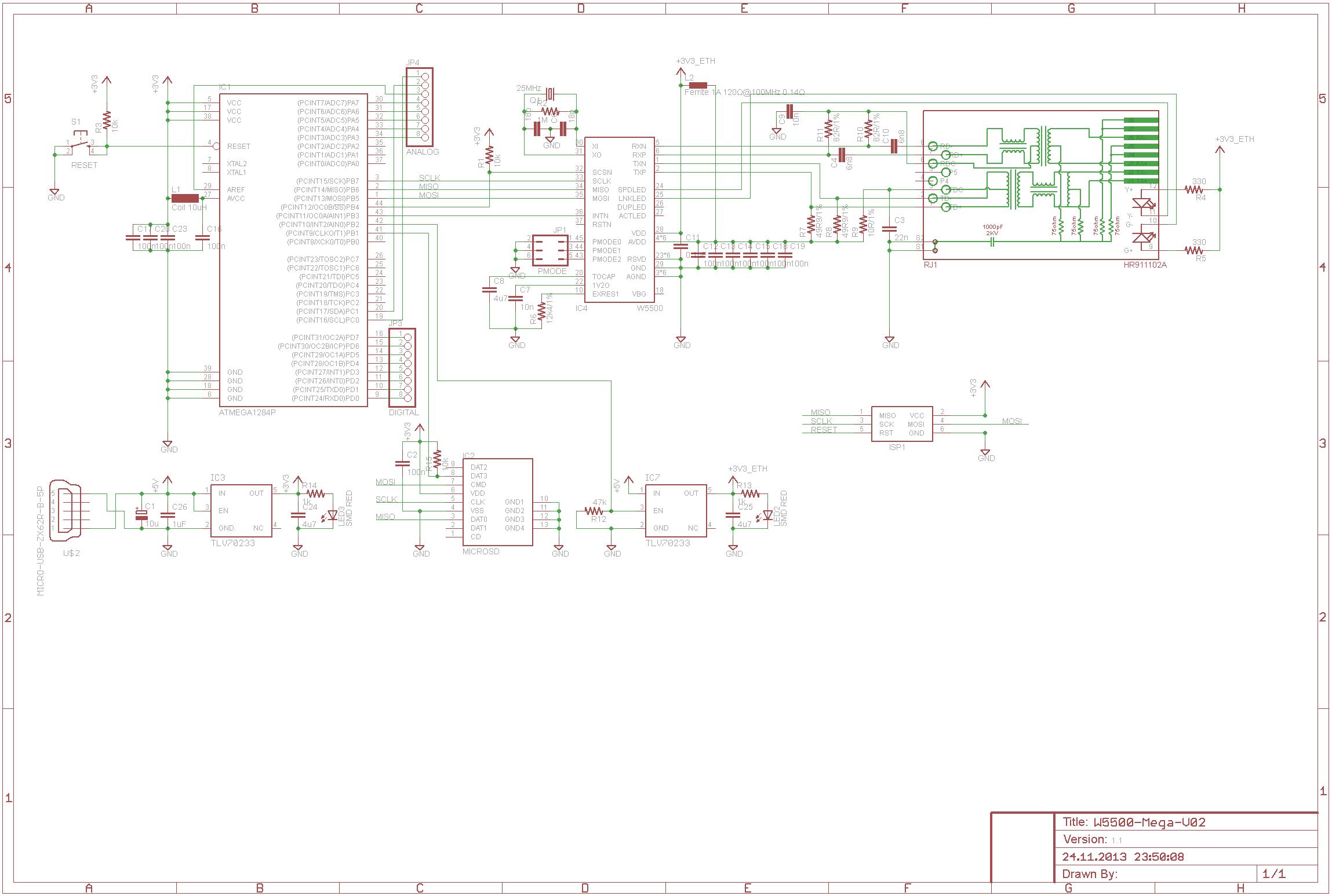 Ansteuerung W5500 - Mikrocontroller.net on