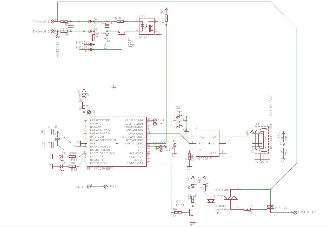 Schaltplan Lichtschalter korrekt? - Mikrocontroller.net