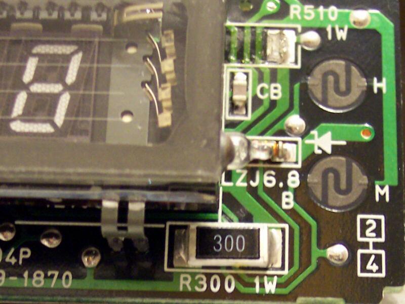 Suche 1 watt smd widerstand 510 ohm 6x3mm for Widerstand tabelle ohm