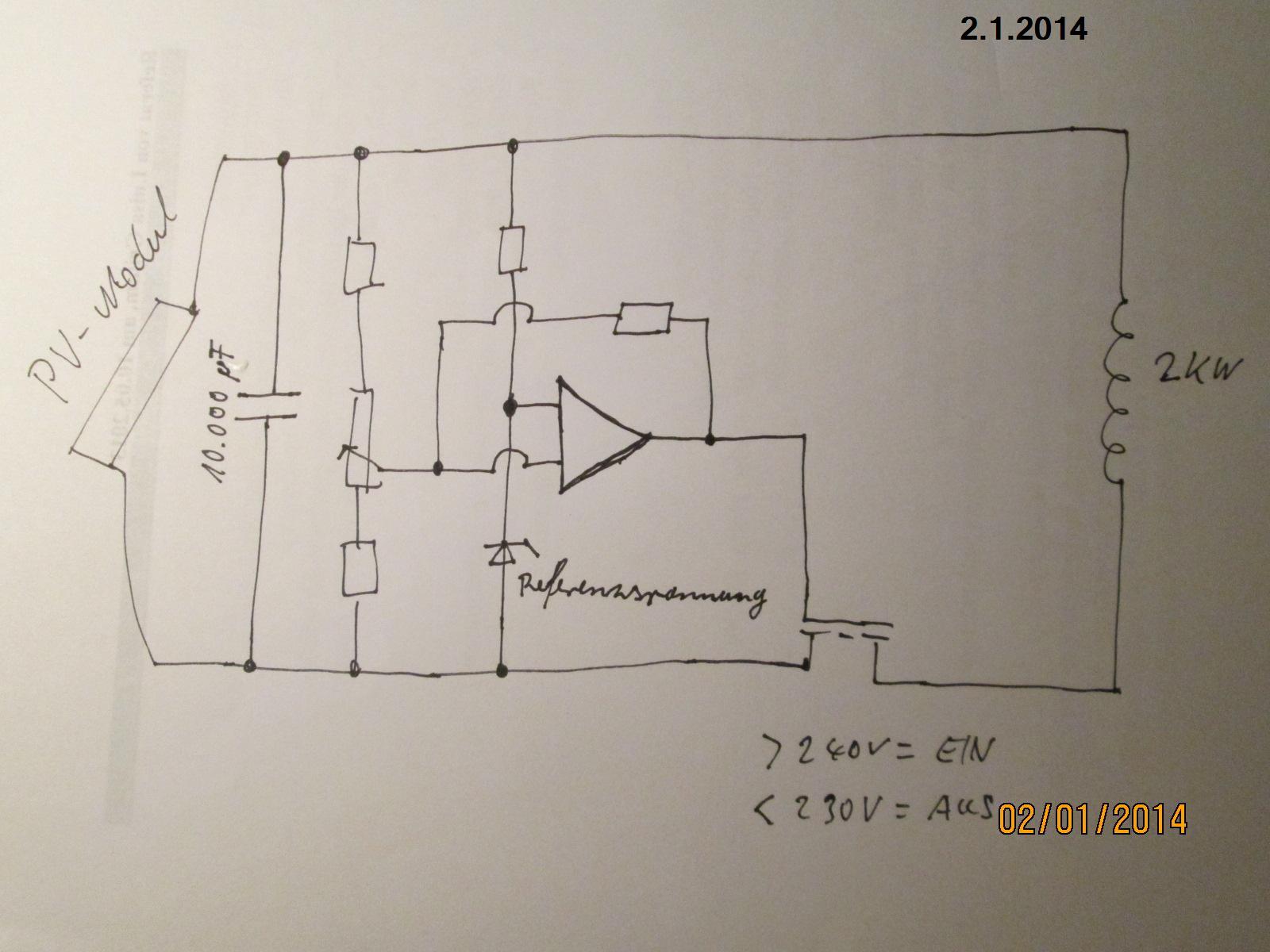 Heizstab an PV.Mudule anschliessen - Mikrocontroller.net