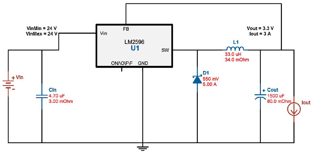 altium layout lm2596