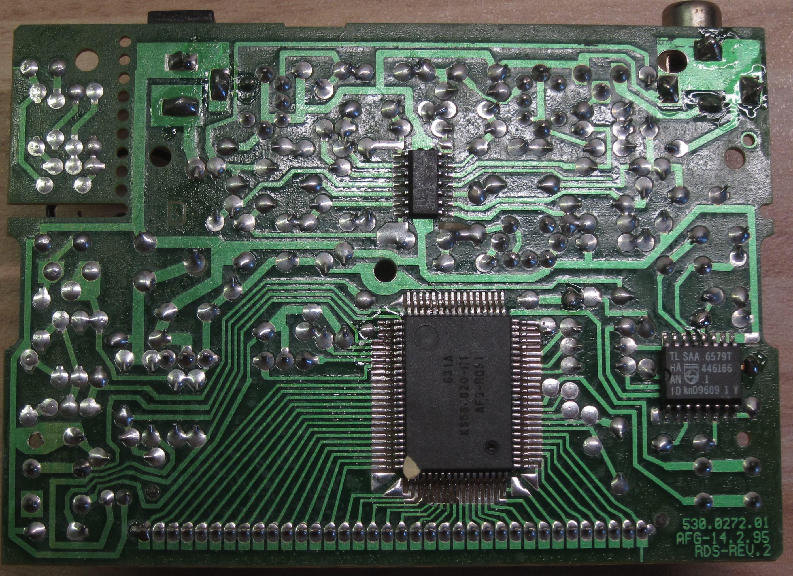 Schaltplan CONRAD RDS Manager gesucht - Mikrocontroller.net