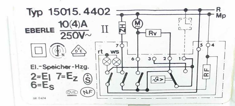 Alter Elektrospeicher-Thermostat: Widerstand kaputt ...