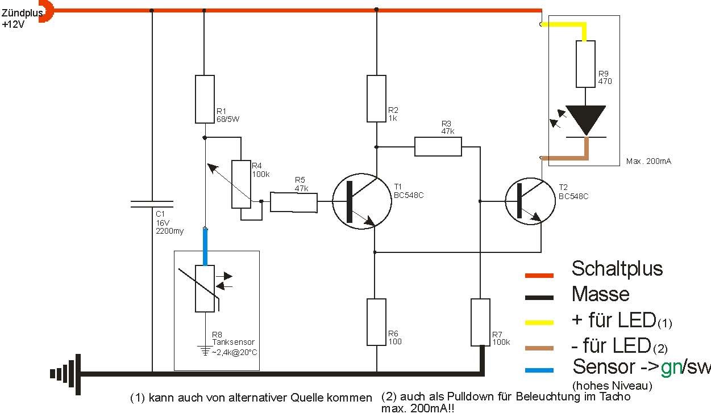 Großzügig Schaltplan Für Die Tankanzeige Bilder - Elektrische ...