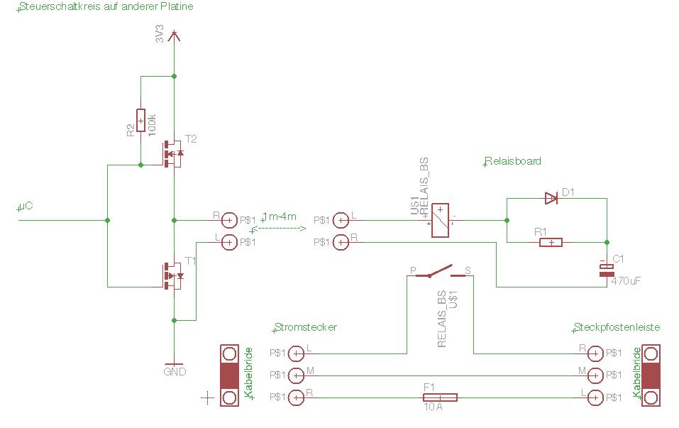 BS_Relais - Funktions-, Sicherheitskontrolle - Mikrocontroller.net