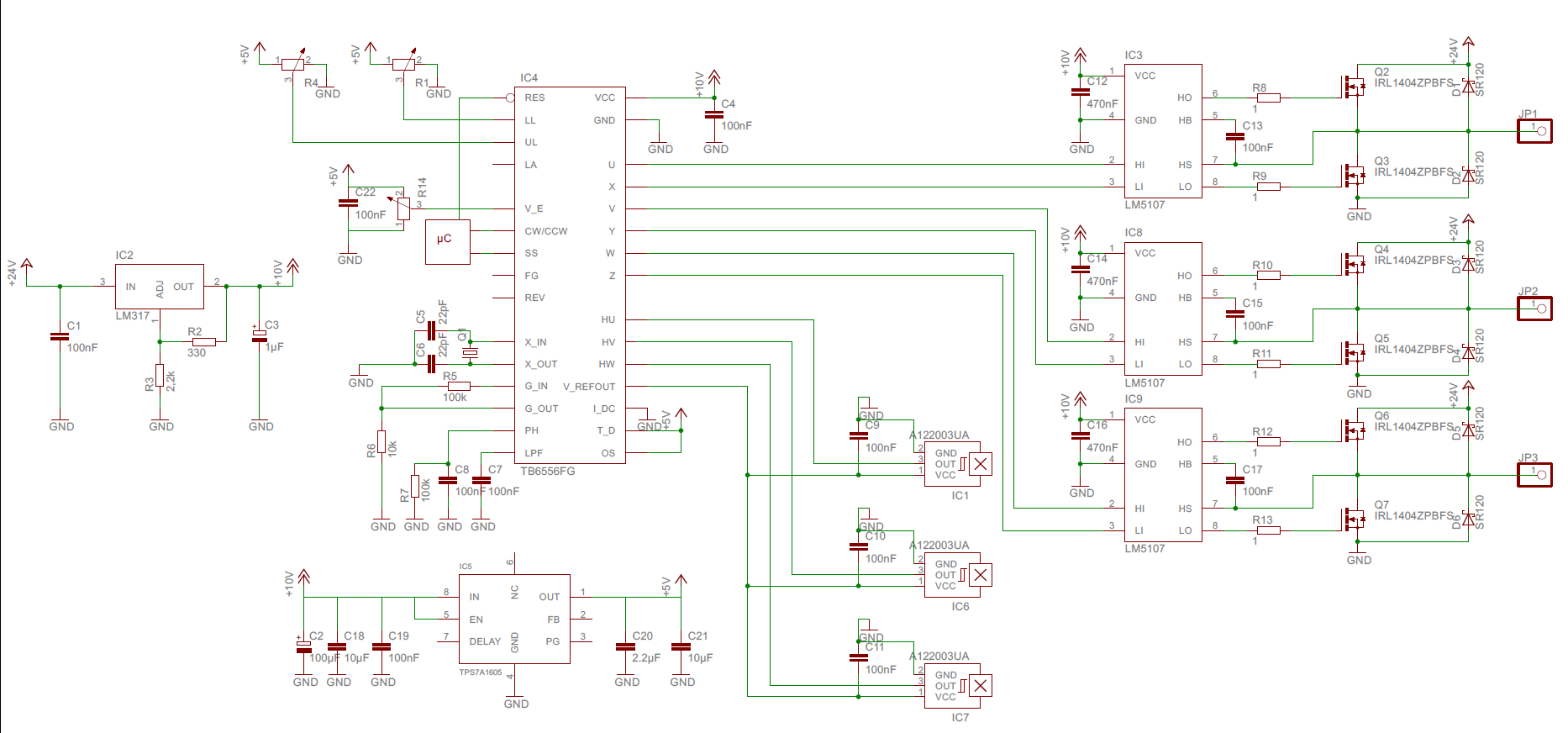 Brushless Motor (BLDC) will sich nicht drehen - Mikrocontroller.net