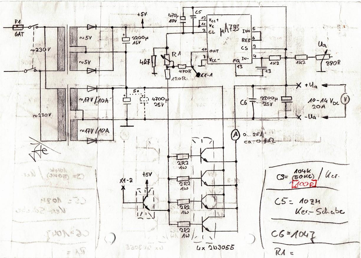 l ngsgeregeltes netzteil tunen pan 1020. Black Bedroom Furniture Sets. Home Design Ideas