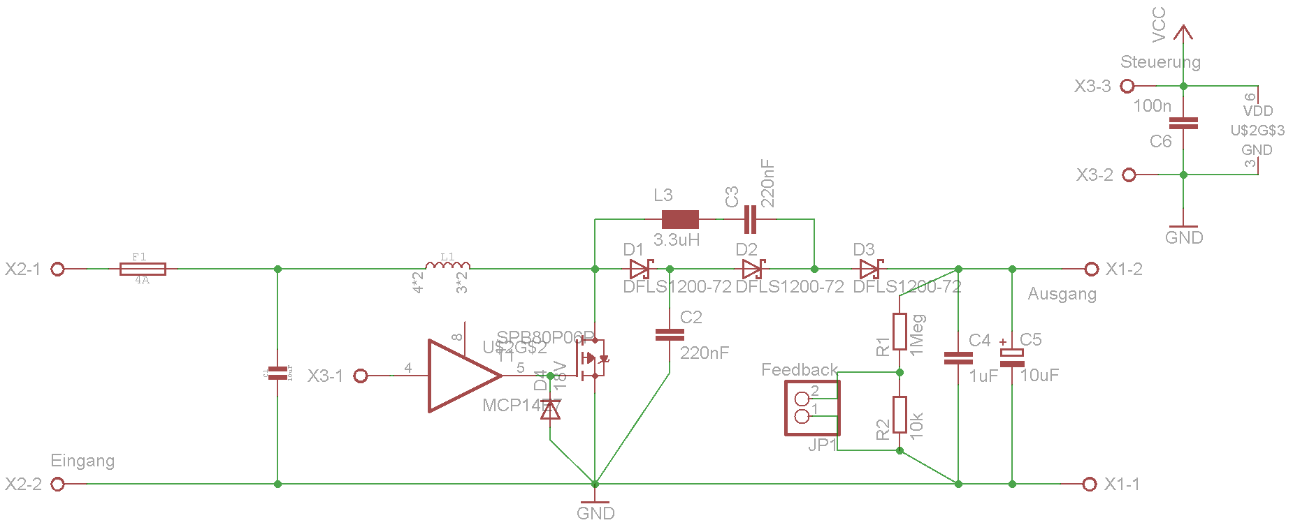 Hochsetzsteller Wirkungsgradprobleme - Mikrocontroller.net