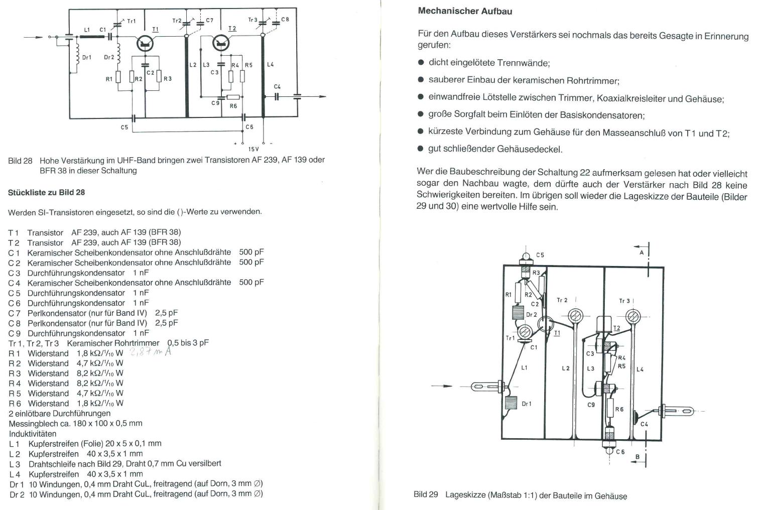 Verstärker mit Germaniumtransistor - Mikrocontroller.net