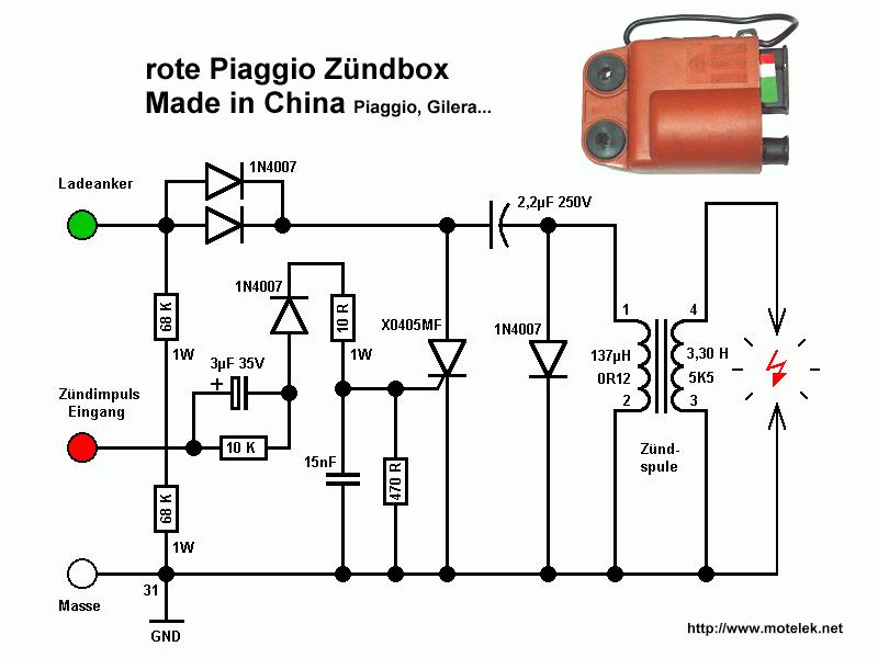 piaggio50 Ignition Coil Wiring Atv Diagram on