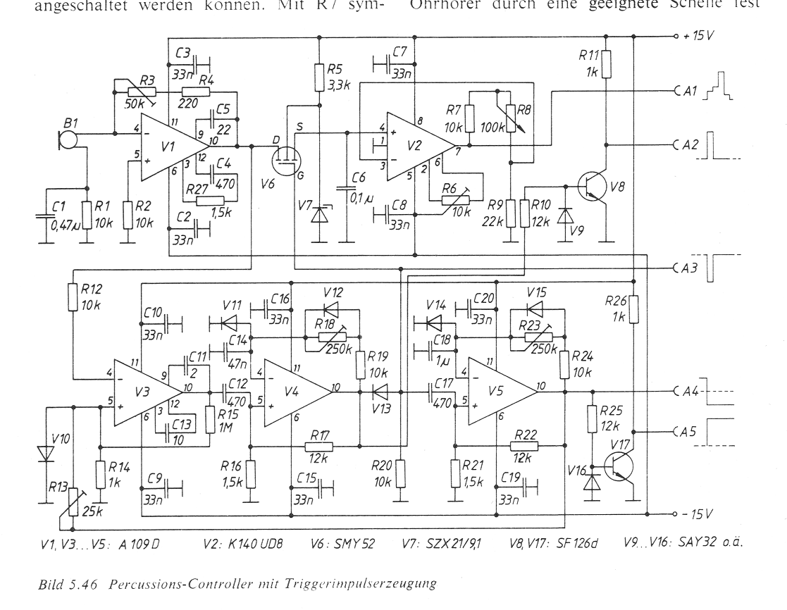 Midi Drumpad mit Piezo Schallwandler - Mikrocontroller.net
