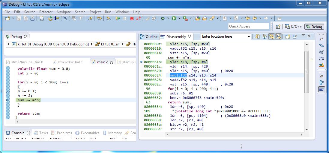 STM32-Toolchain mit Eclipse CDT 4 3, GnuArmEclipse, OpenOCD