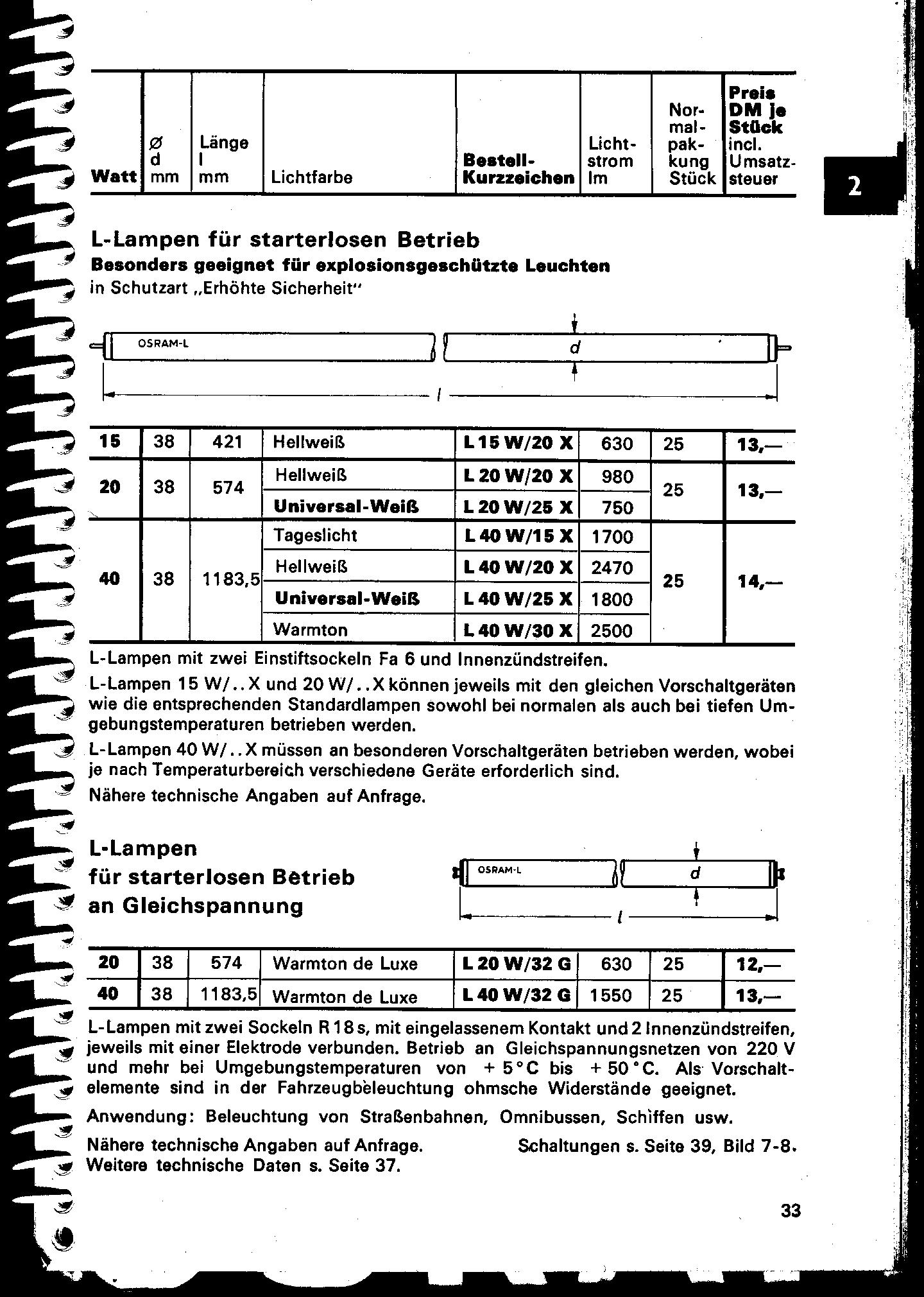 Vorschaltgerät für Ex-Leuchtstofflampen T12 40W - Mikrocontroller.net