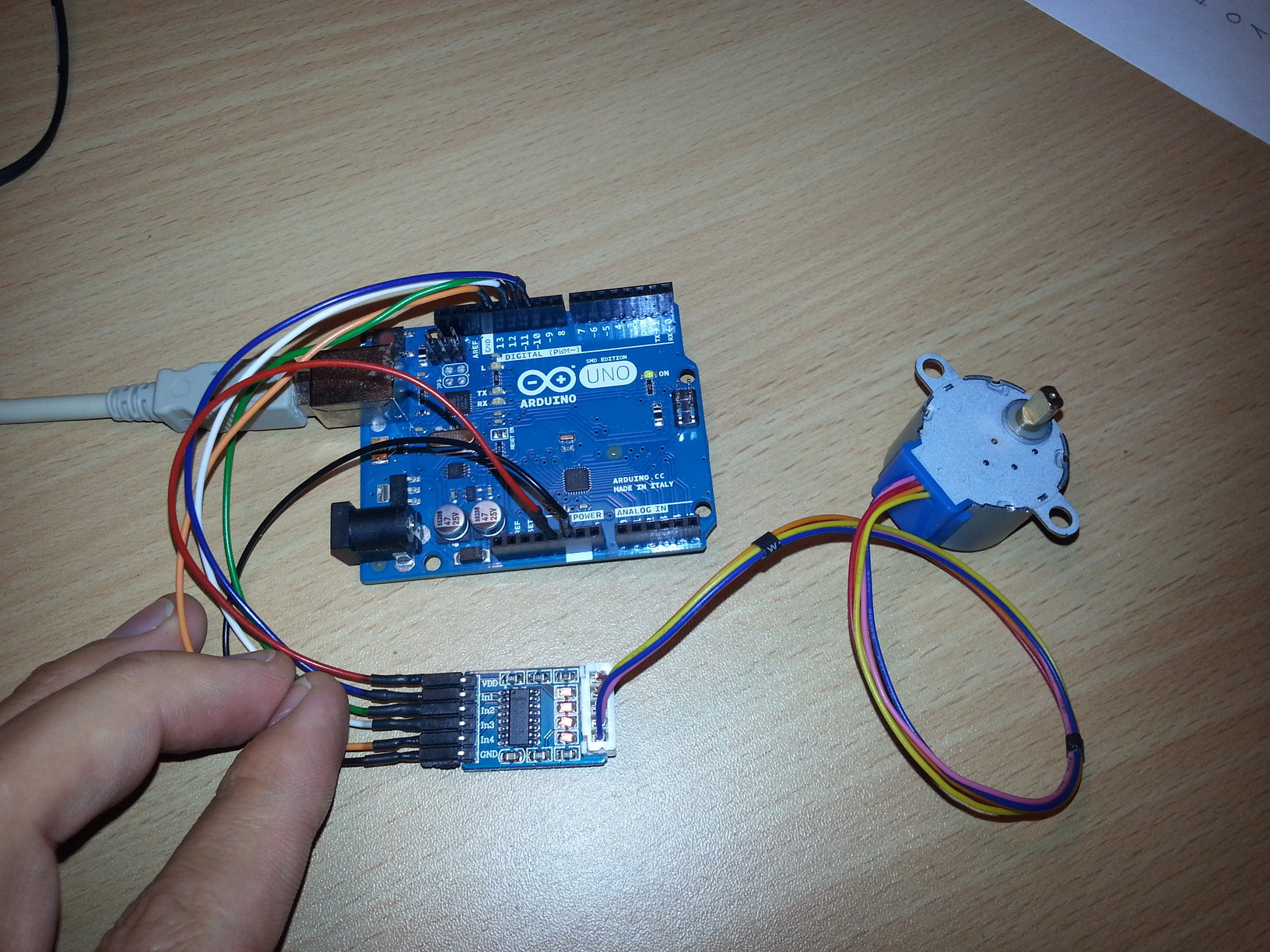 Arduino Stepper Motor Control - RS Components