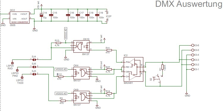 DMX Vhdl To Schematic on