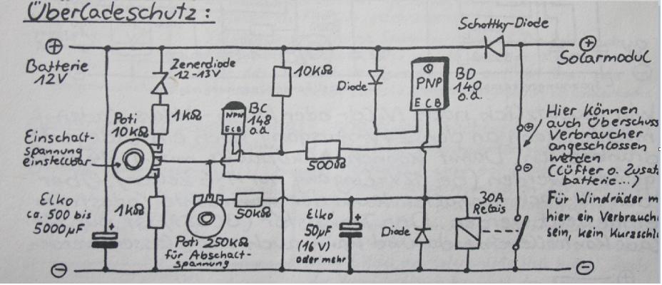 laderegler selbstbau. Black Bedroom Furniture Sets. Home Design Ideas