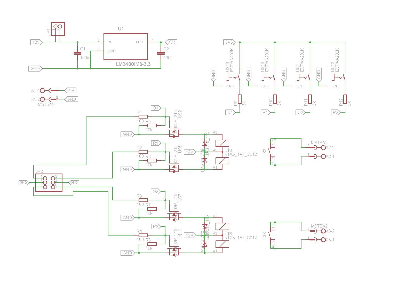 Relais mit uC und per Taster schalten - Mikrocontroller.net