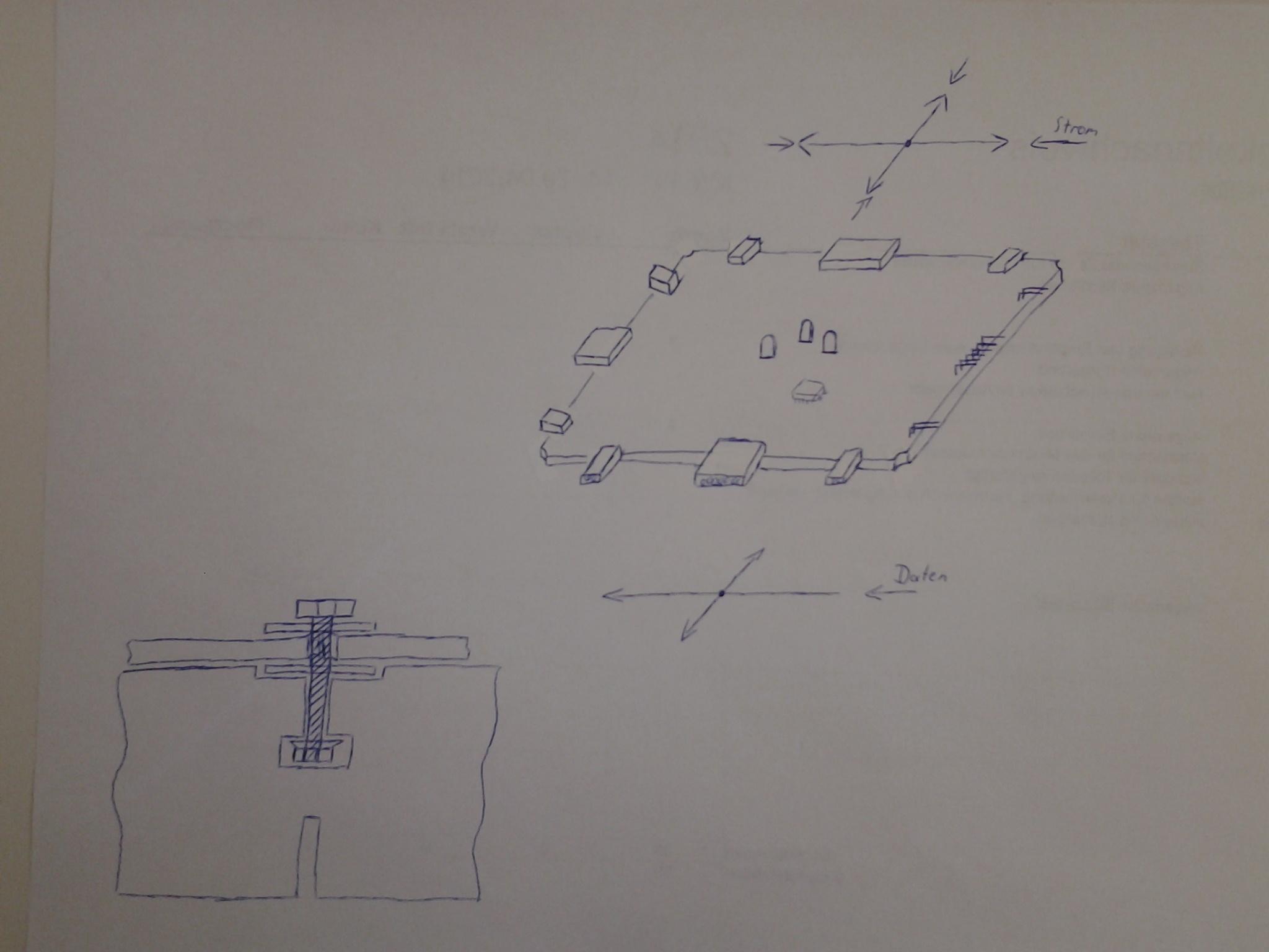 LED Tisch mit Berührungs-/Gegenstandserkennung - Mikrocontroller.net
