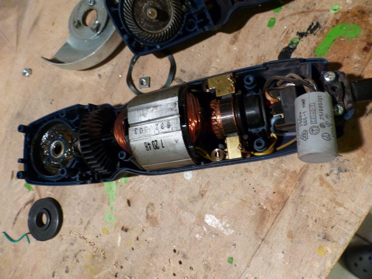 Winkelschleifer Defekt Entst Rkondensator