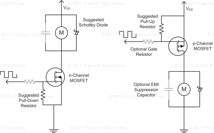Motor PWM Lowside-Schaltung Frage - Mikrocontroller.net