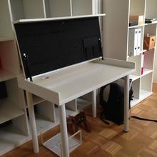 kleinen arbeitsplatz in der wohnung. Black Bedroom Furniture Sets. Home Design Ideas