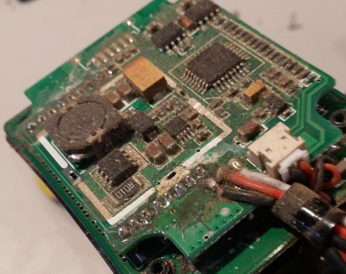 Platine reinigen? Kristalliene Verschmutzung - Mikrocontroller.net
