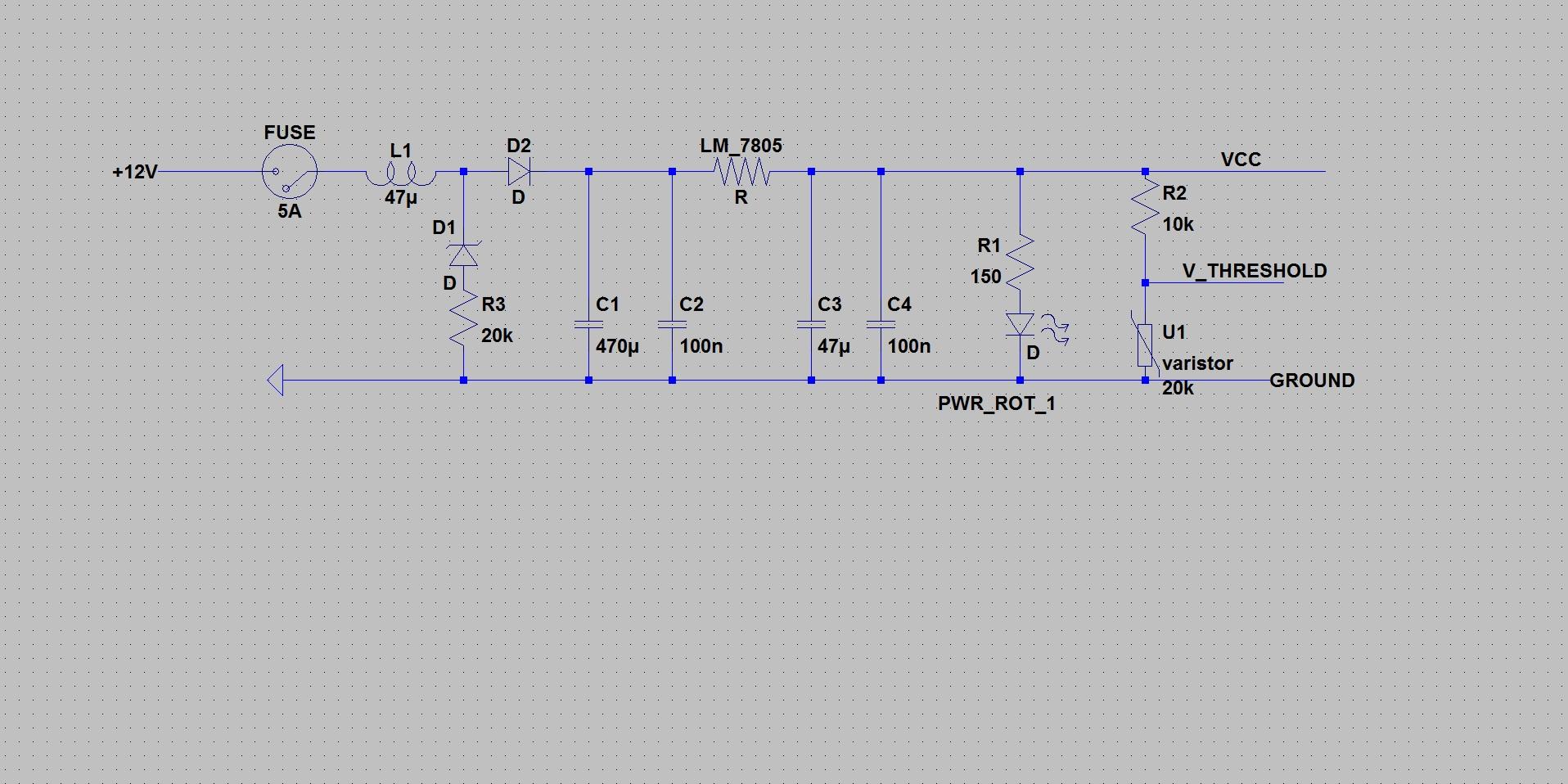 KfZ Bordnetz filtern für µC Anwendung - Mikrocontroller.net