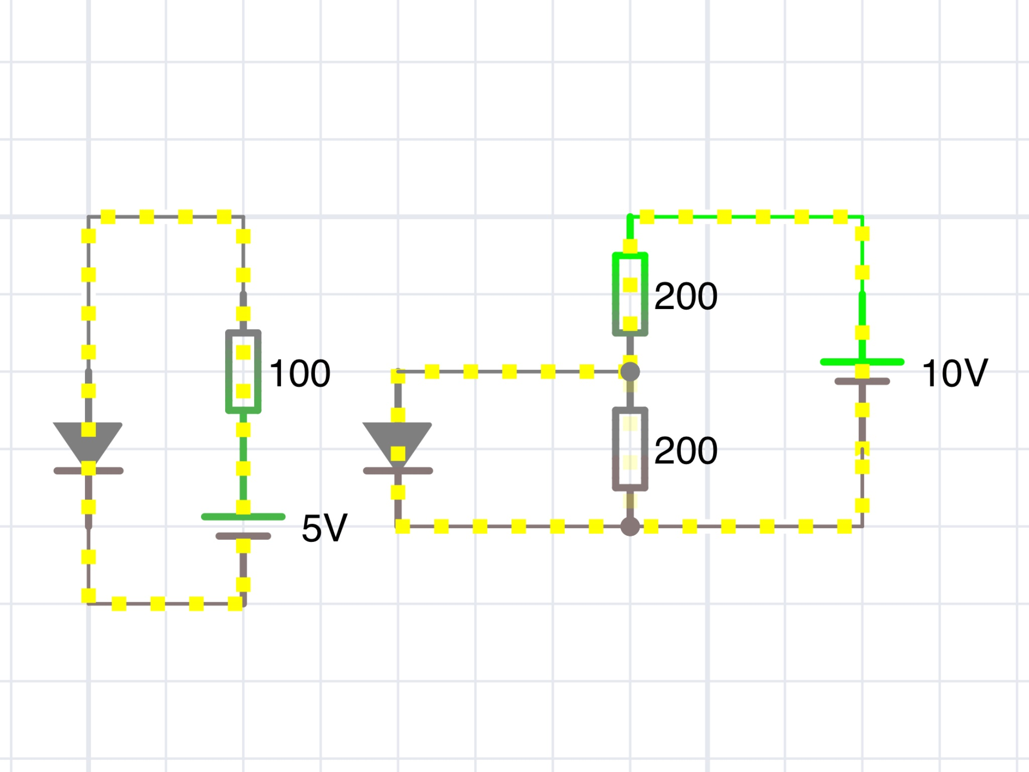 Relais Mit Lm8560 Schalten Transistor Selbsthaltung Funktion U Circuit Schematic Preview Image For