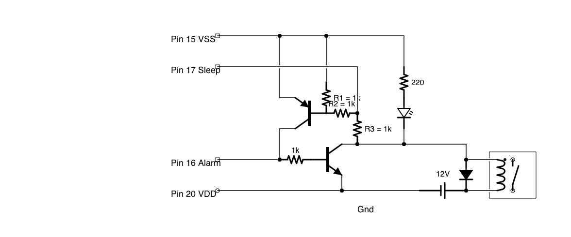 relais mit lm8560 schalten transistor selbsthaltung. Black Bedroom Furniture Sets. Home Design Ideas