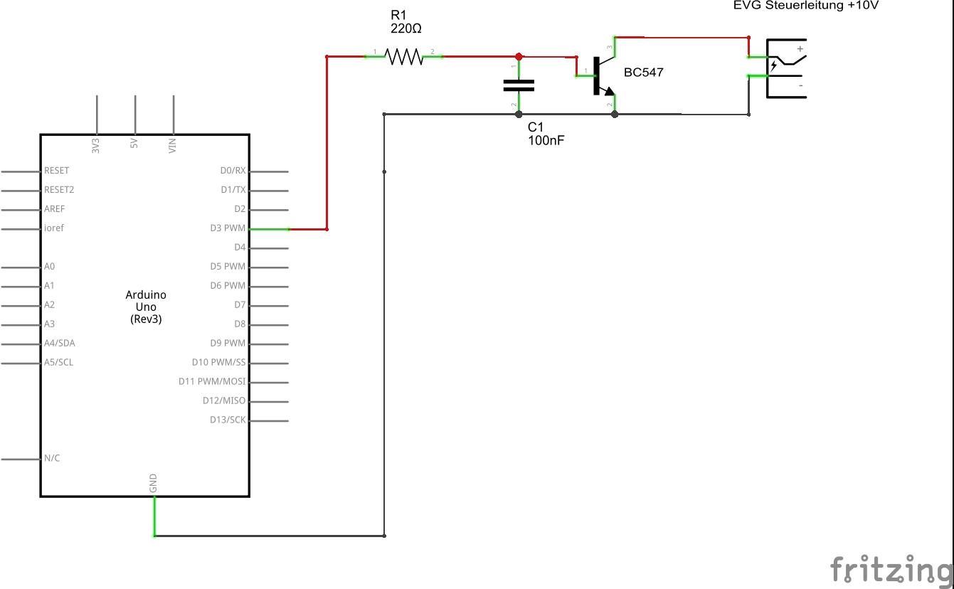 Digitalpotentiometer, 1-10V EVG, Arduino - Mikrocontroller.net