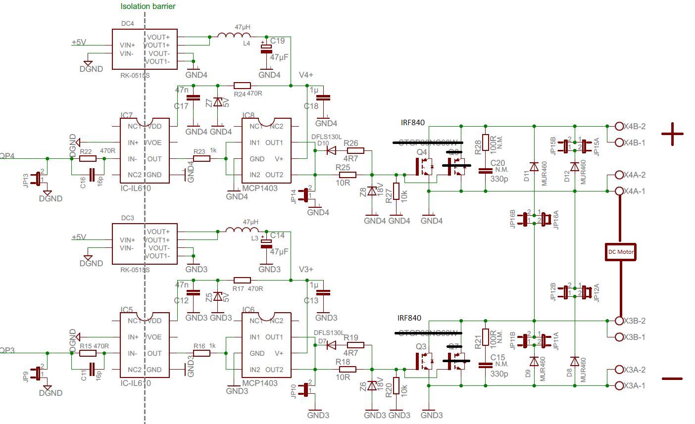 H Bridge High Side N Fet Frage Zu Schaltplan Circuit Diagram Preview Image For Nfet