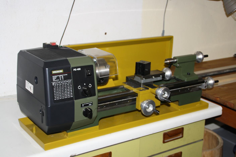 Proxxon PD 400 Drehmaschine Schnäppchen - Mikrocontroller.net