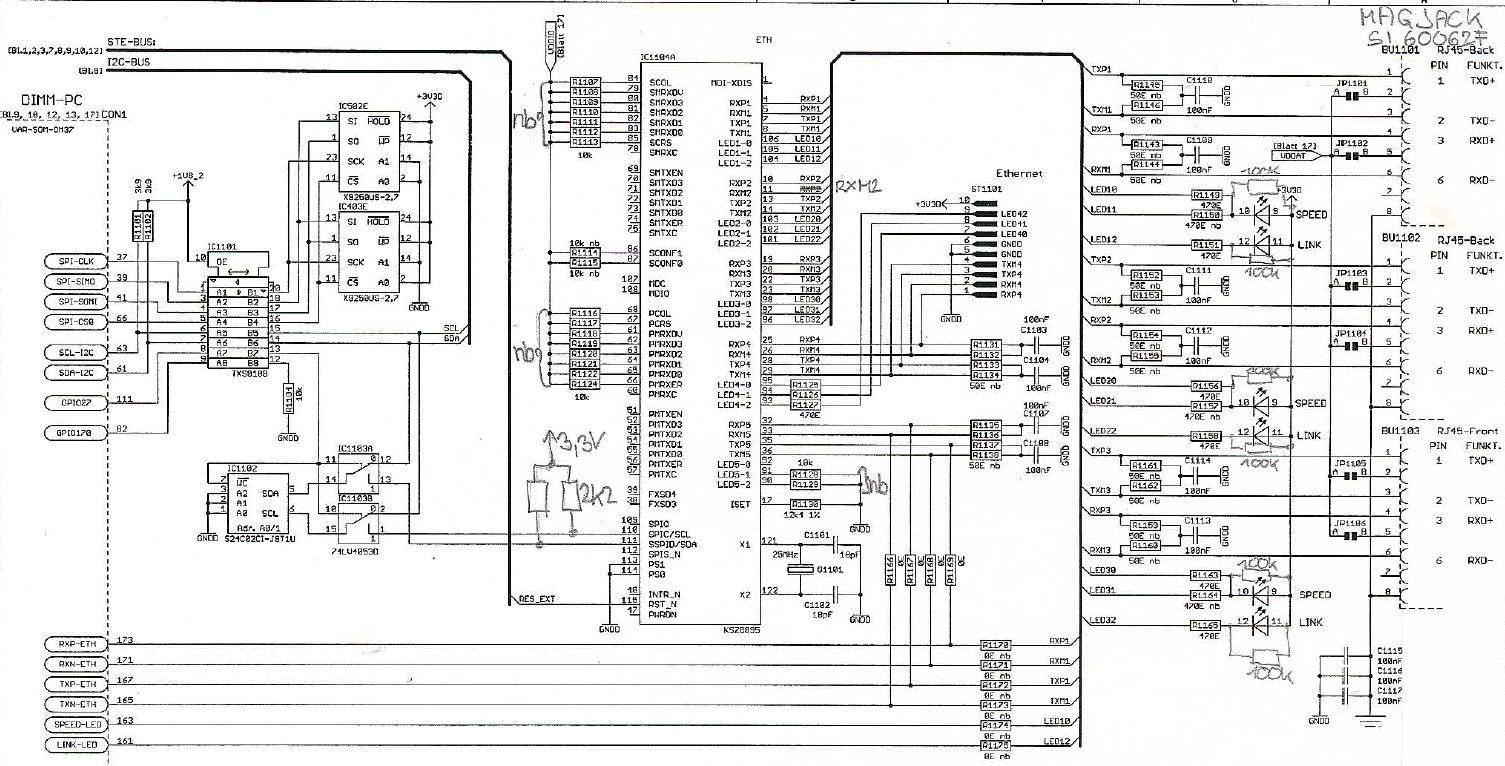 ethernet packetverlust mit switch ksz8895 mq