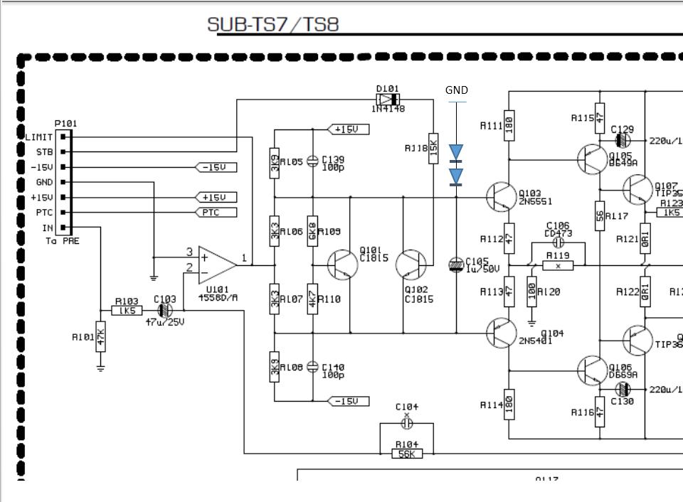 Harman Kardon SUB-TS7 subwoofer Netzteil - Mikrocontroller.net
