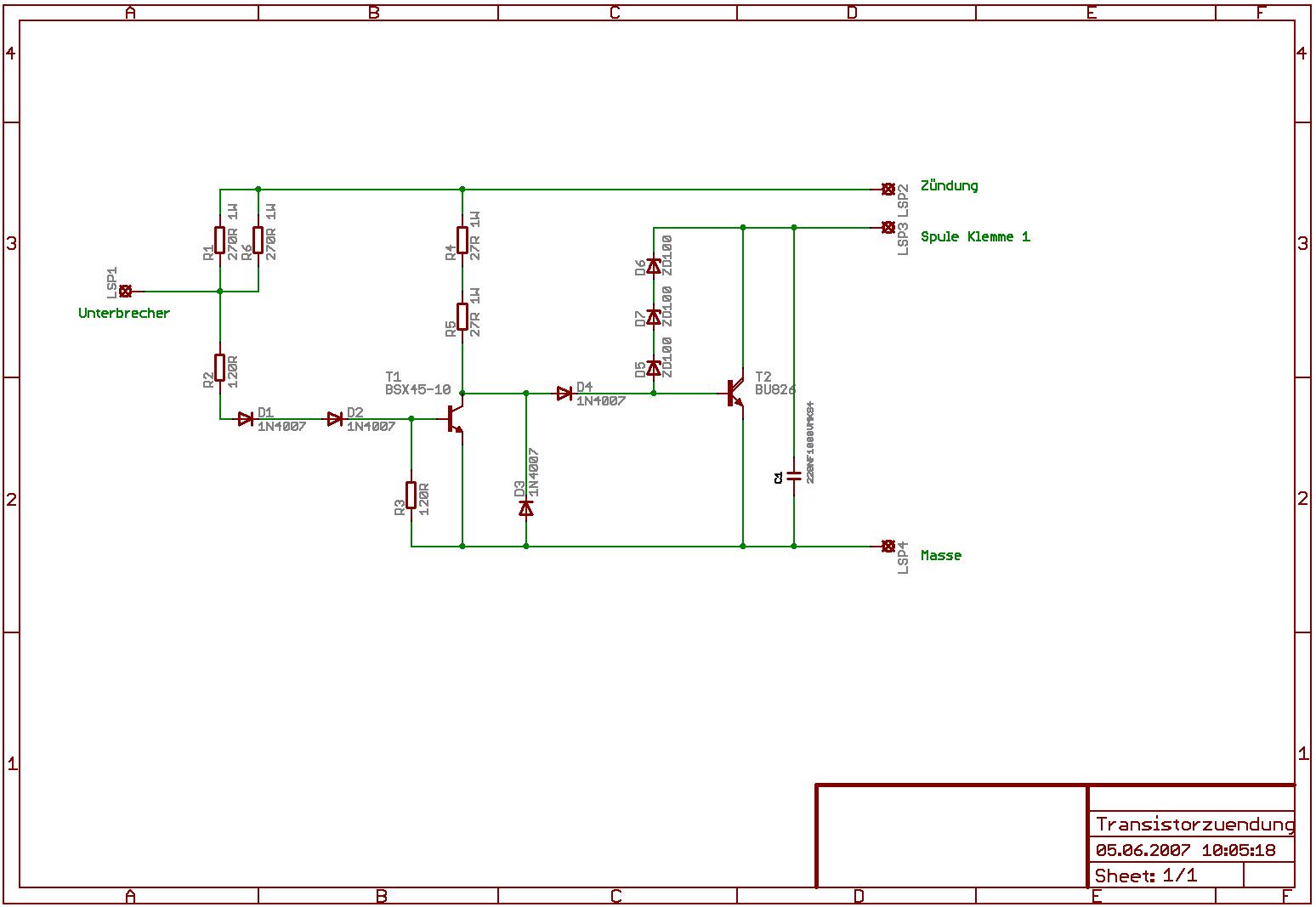 Leistungstransistor für Zündspulen - Mikrocontroller.net